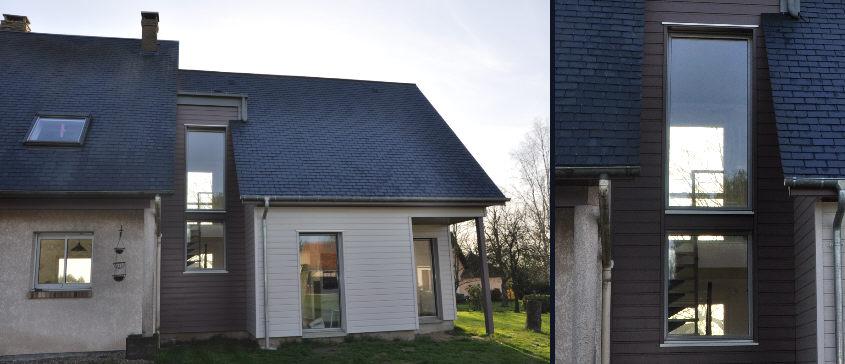 Module extension maison cool dot de larges ouvertures cet for Module extension maison