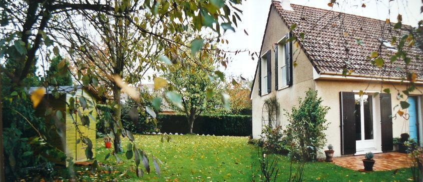 Extension de b n dicte langlois architecte - Prolongement toiture pour terrasse ...