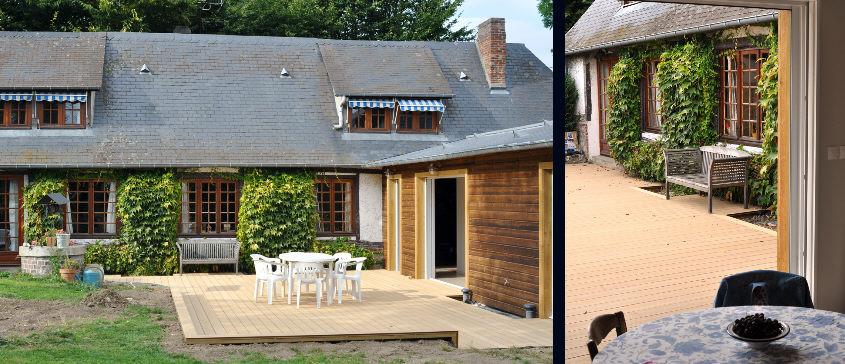 Plan extension maison gratuit model devis batiment for Plan extension maison 40m2